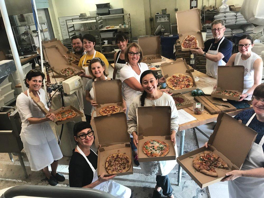 pizza class students.JPG