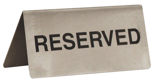 reserved marketplace