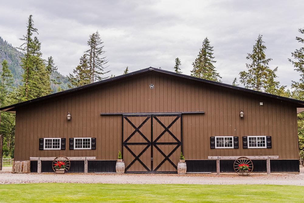 Weatherwood Homestead Montana Weddings and Event Barn