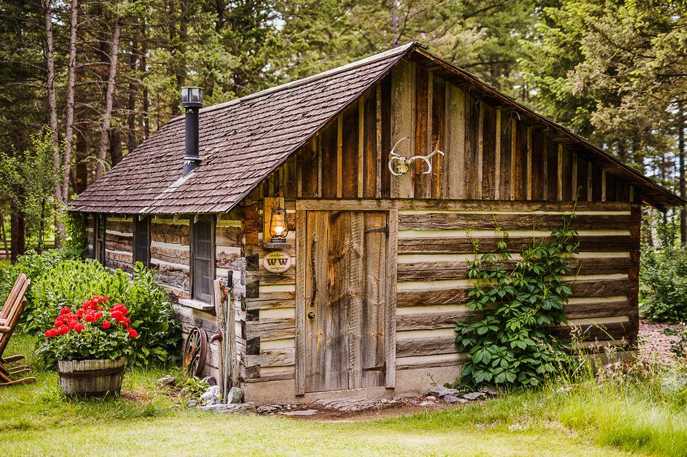 The Weatherwood Homestead Honeymoon Cabin