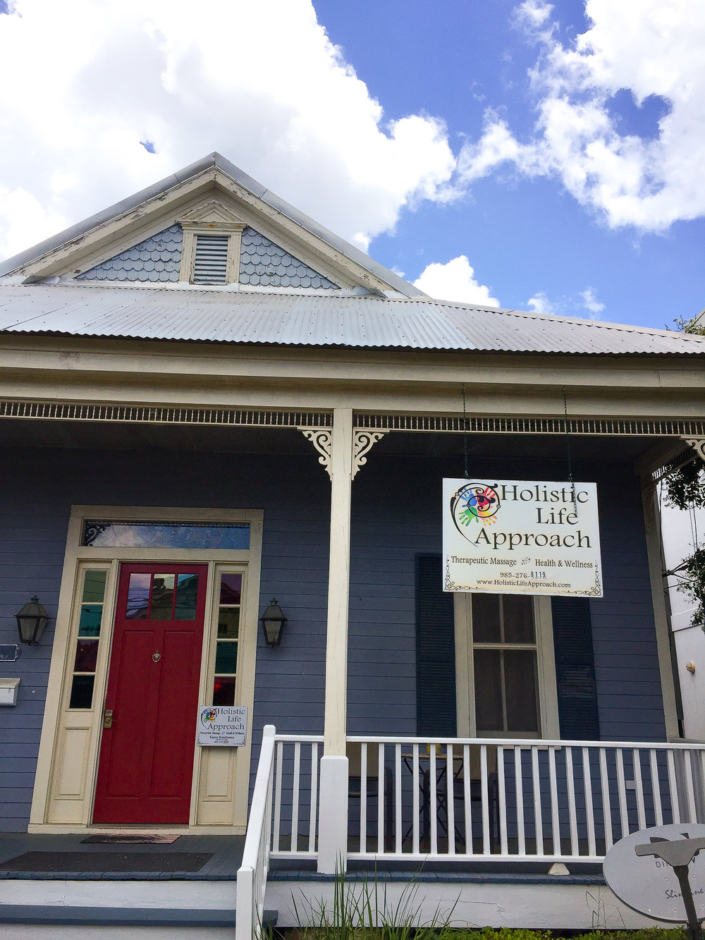 Holistic Life Approach, in downtown Covington