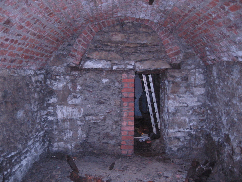 58 - Working shot, lower vault.JPG