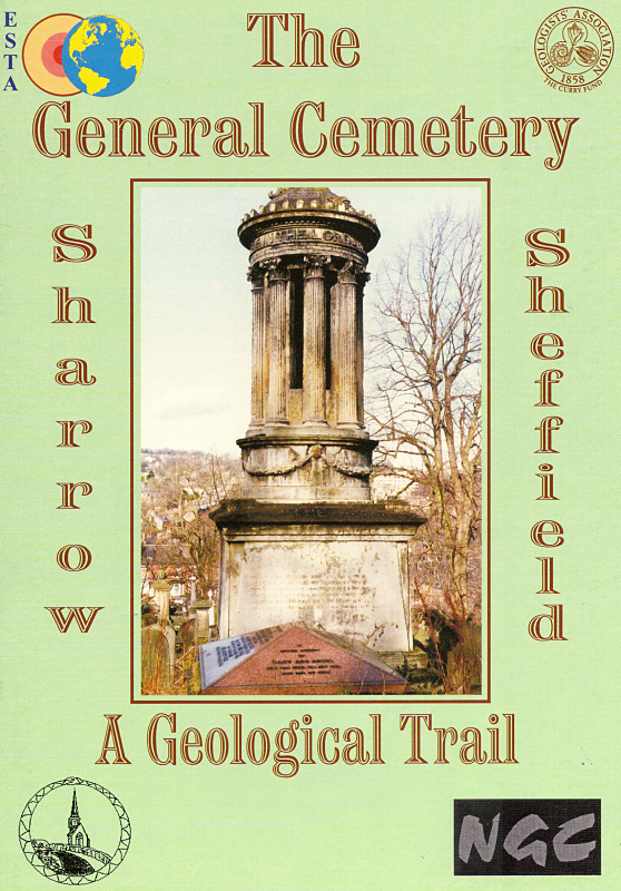 A Geological Trail    Discover the General Cemetery's varied geology  in this handy booklet, which takes you on a guided tour indicating stones used in the historic building, monuments and graves.   £1.50