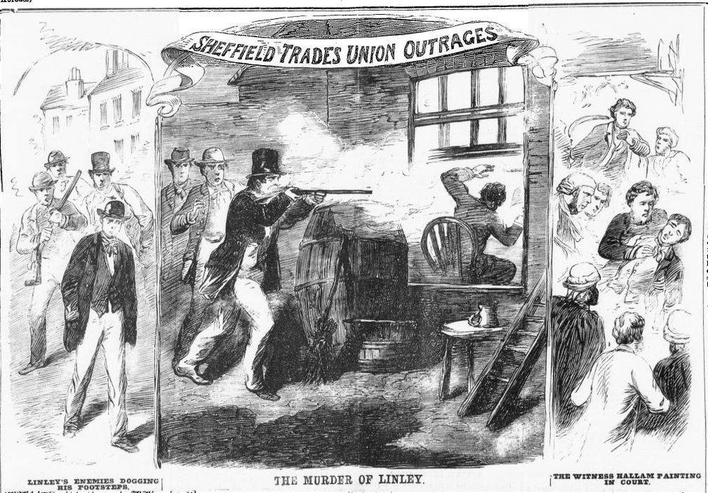 1867 - The Sheffield Outrages
