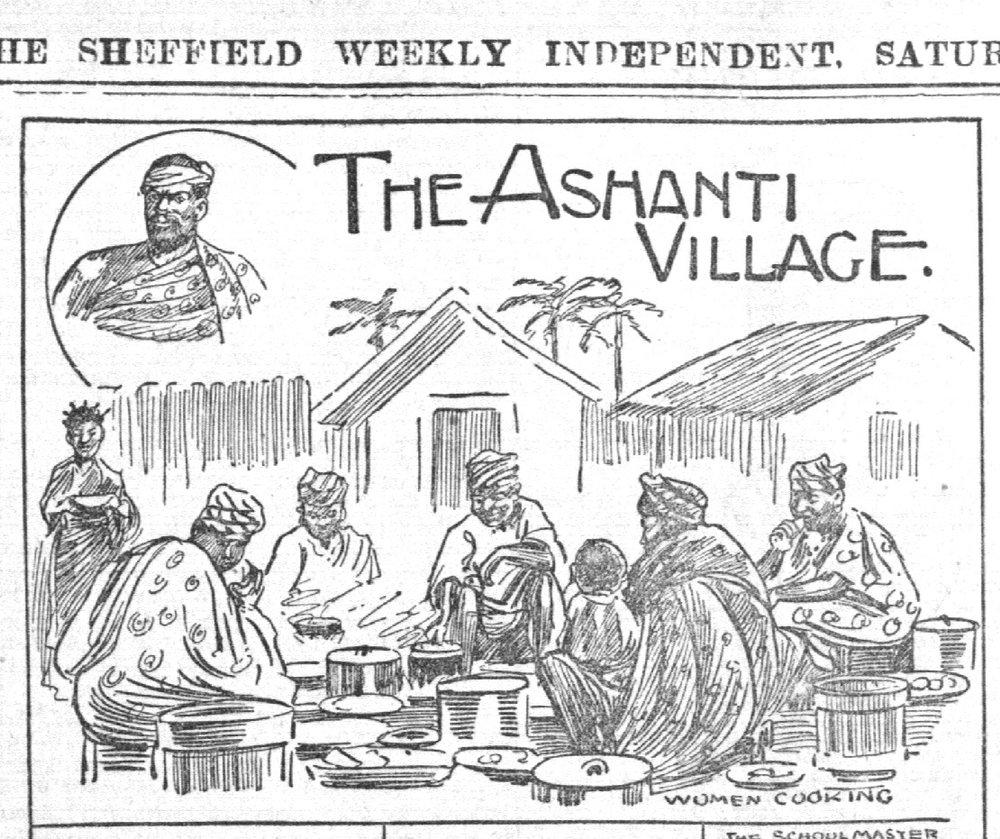1902 - Ashantee Village in Sheffield