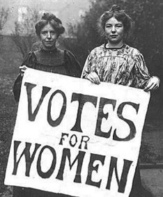 1927 - Women Given The Same Voting Rights As Men