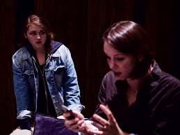 Clara Hayes (BELLA) & Hannah Ruwe (STEVIE) in ACT/Live Girls! Production.