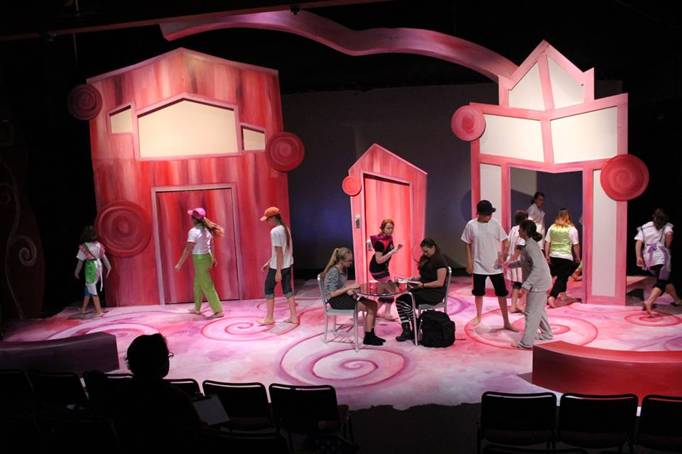 Alice in Wonderland, opening at a Froyo Shop on Main Street. Oddfellows Playhouse Youth Theater.
