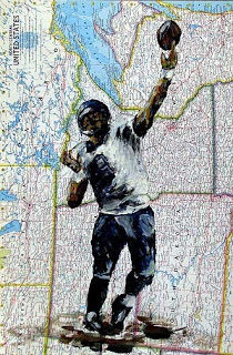 Quarterback, Quarteracks, football images, football art