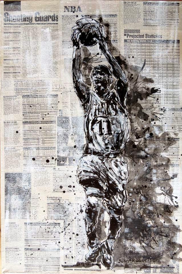 Basketball paintings NBA Shooting Guards  Sports art.jpg