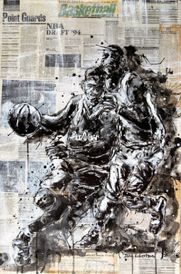 Basketball paintings NBA Point Guards Art.jpg
