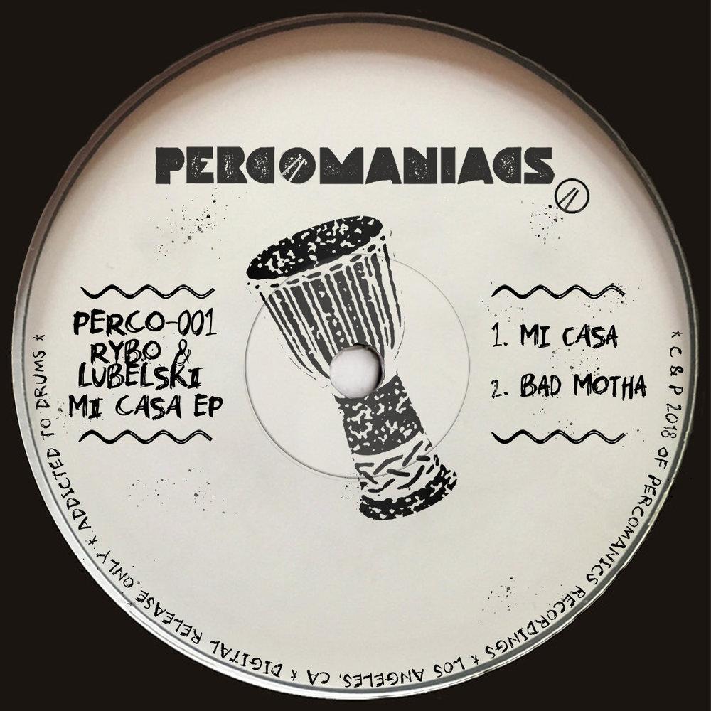 PERCO001 - Lubelski, RYBO - Mi Casa EP