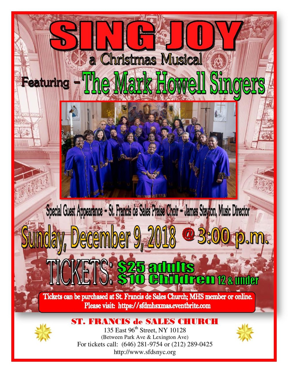 JOIN US FOR WHAT IS SURE TO BE AN AMAZING MUSICAL AFTERNOON!!!