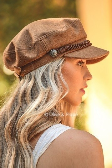 8a45d739837 Camel Fisherman Hat — The Vinyl Studio