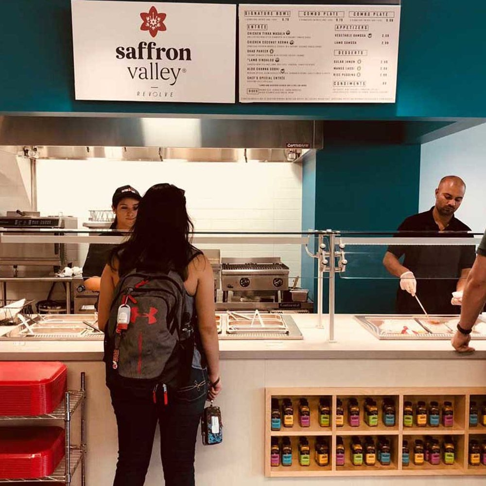 University of Utah Indian Restaurant Saffron Xpress