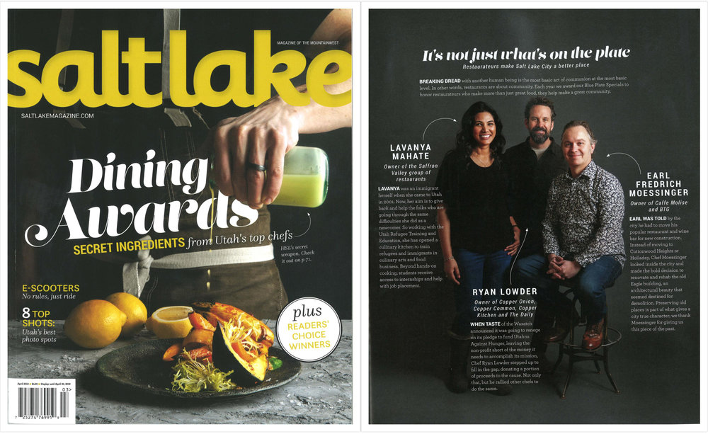 March / April 2019 issue of Salt Lake Magazine