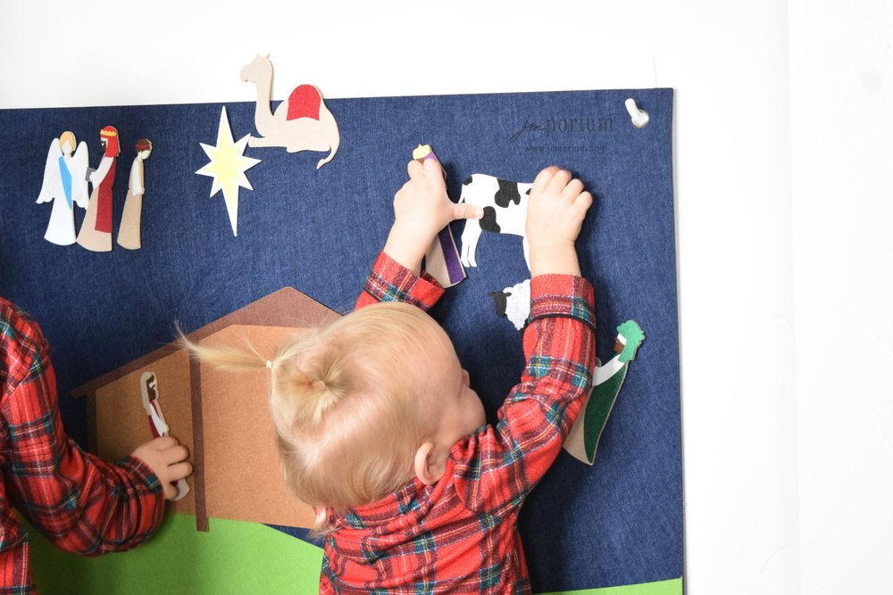 To hang or not to hang. - Sturdy grommets are built into each corner giving your the flexibility to hang it up as interactive decor, or just leave it for the kiddies to play with on the floor.