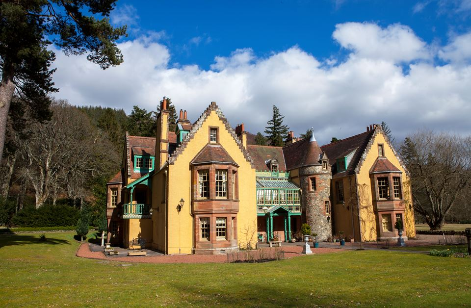 Leithen Lodge House  -  Note: I do not own this photo.