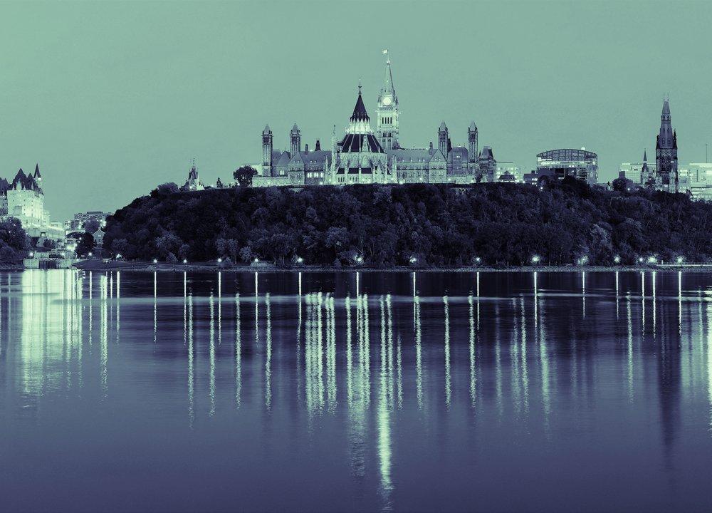 Ottawa Skyline - Parliament Hill
