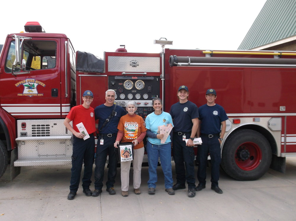 Forest Lakes Wildfire Adapted Partners and Volunteers