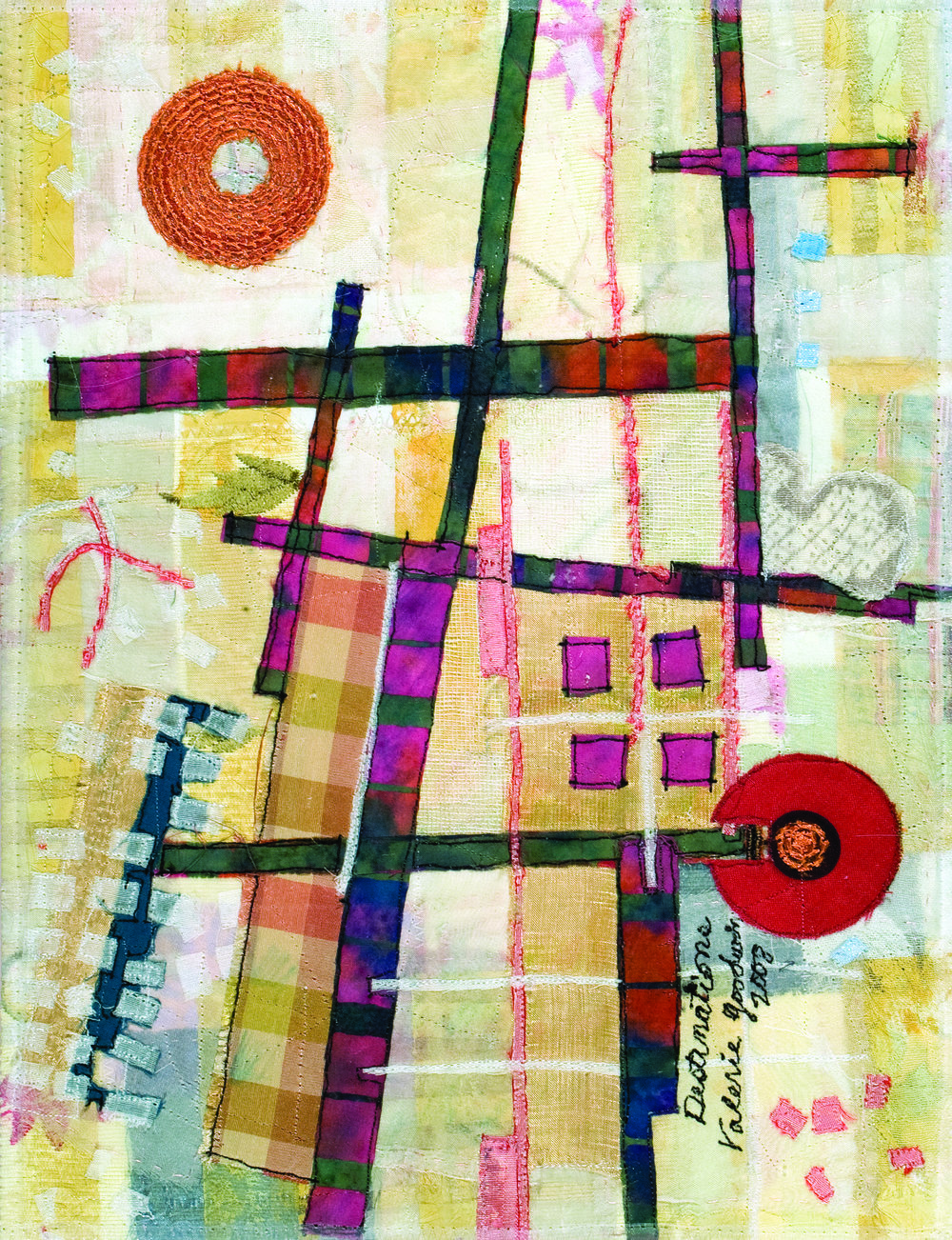 """Destinations -- 12.5"""" x 9"""" -- 2008 -- Private Collection of Mary McBride"""