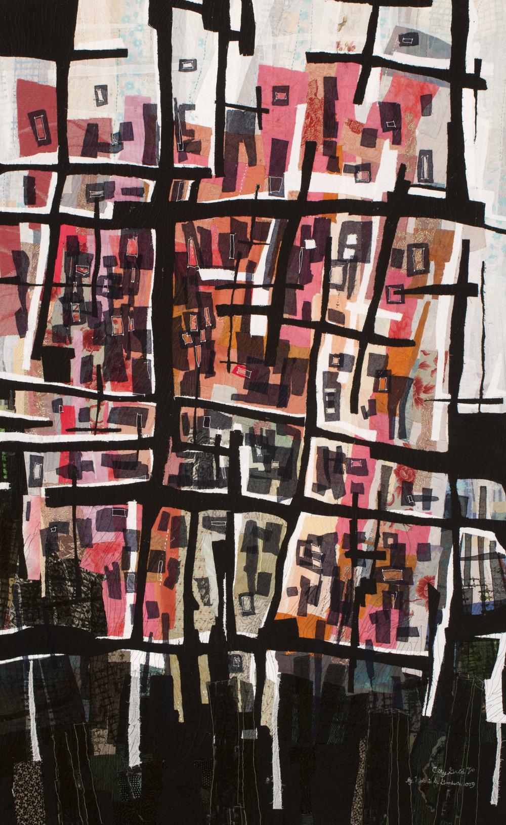 """City Grid V -- 33"""" x 53"""" -- 2007"""