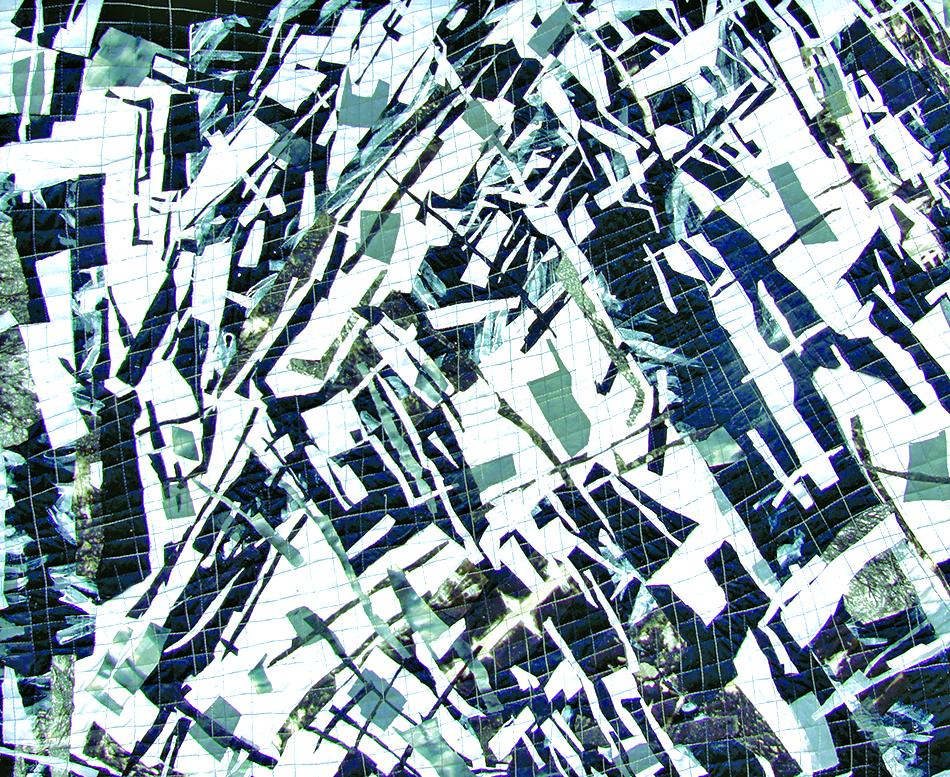 """Ground Zero -- 35"""" x 49"""" -- 2001"""