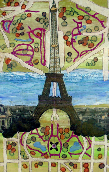 "The Eiffel Tower -- 10.5"" x 14.5"" -- 2007"