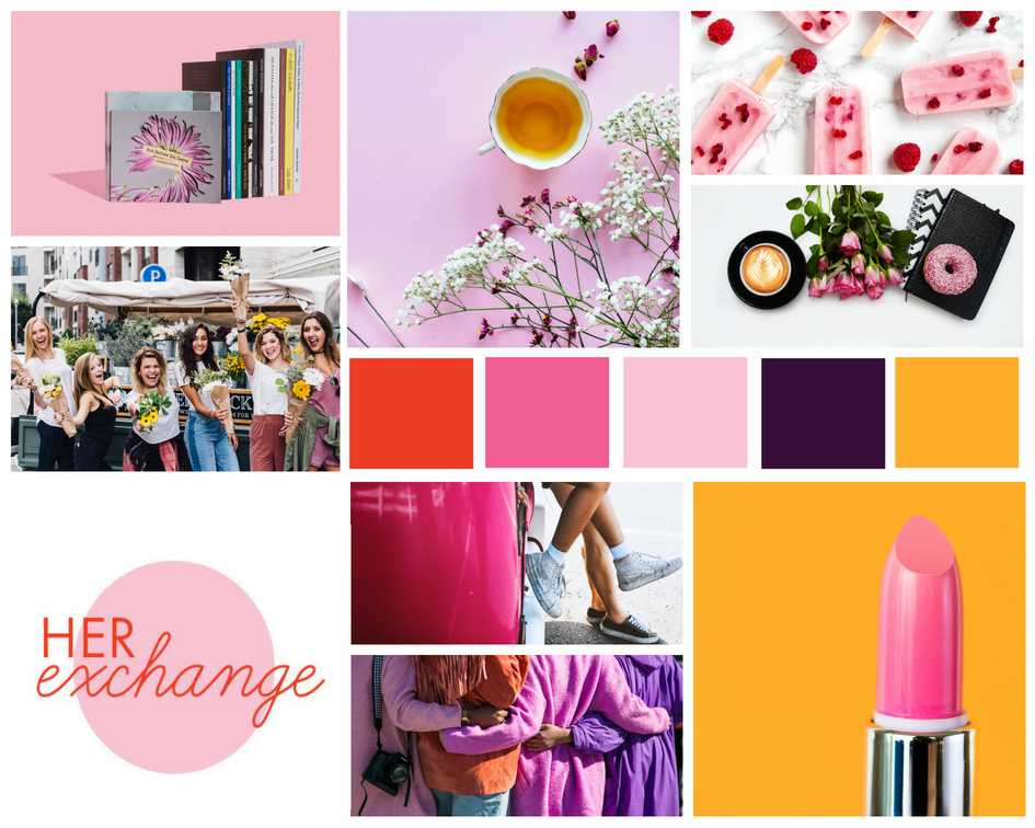 She made this site! - Get your free custom branded mood board like I did - Click here!