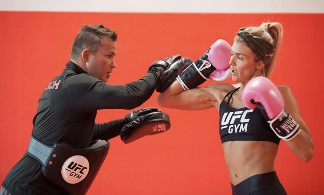 Shanie and Rob McCullough, UFC Master Trainer