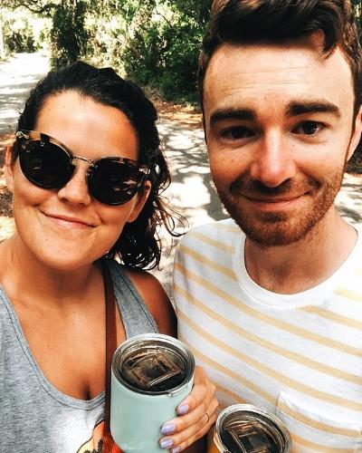 Kayla and her husband, Kyle.