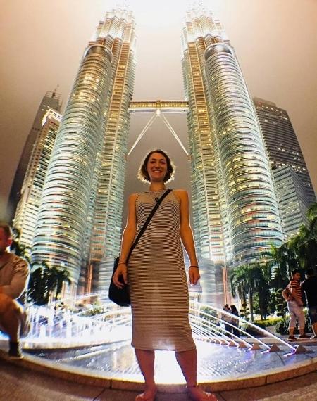 A night out in Kuala Lumpur, Malaysia.