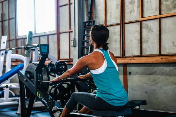 Julie has similar workout programming as her clients, so she fully understands what they're going through when they come to her (taken at UpLift Training Louisville).