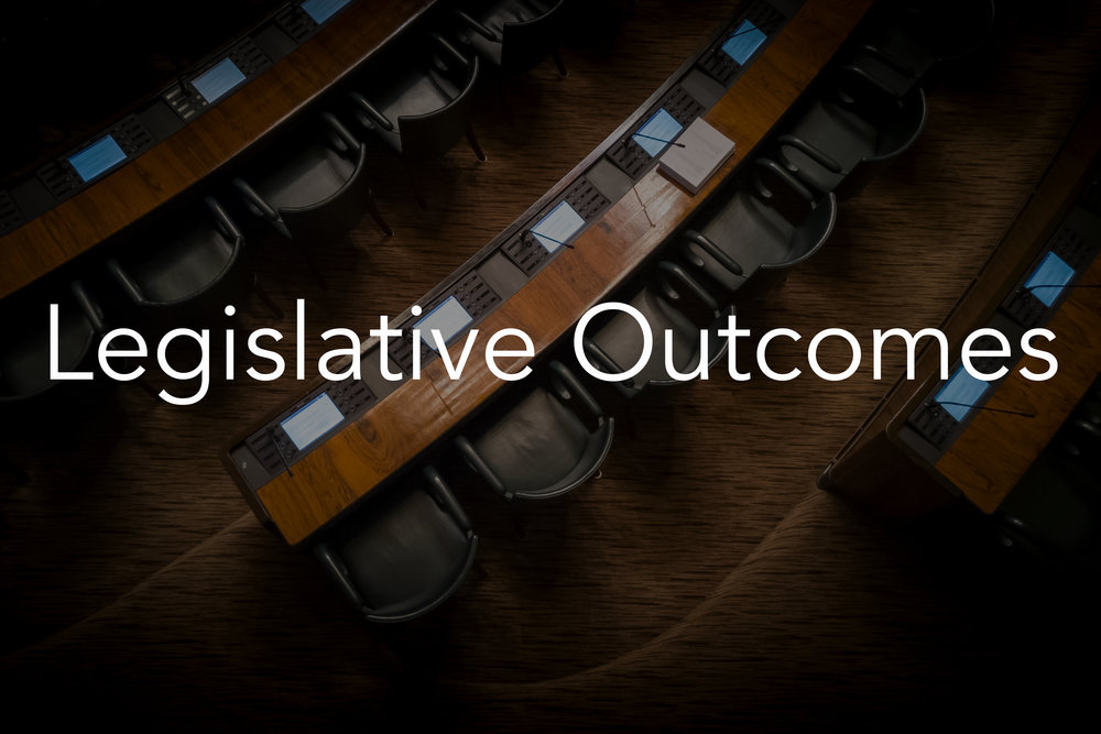 Correctly anticipated legislation on immigration and gun control reforms for major industry associate months in advance