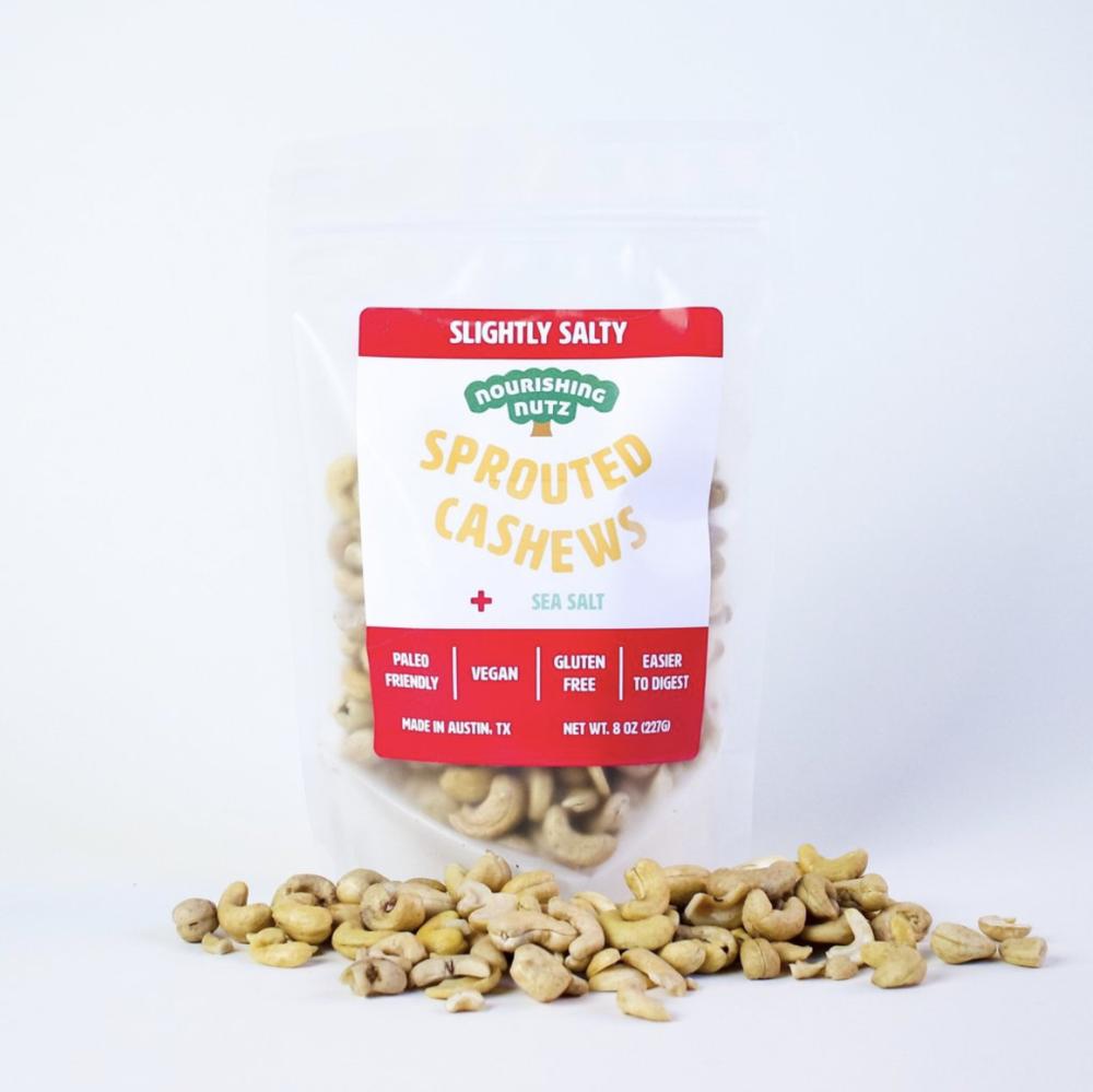 Springbound Snacks — Slightly Salty Cashews