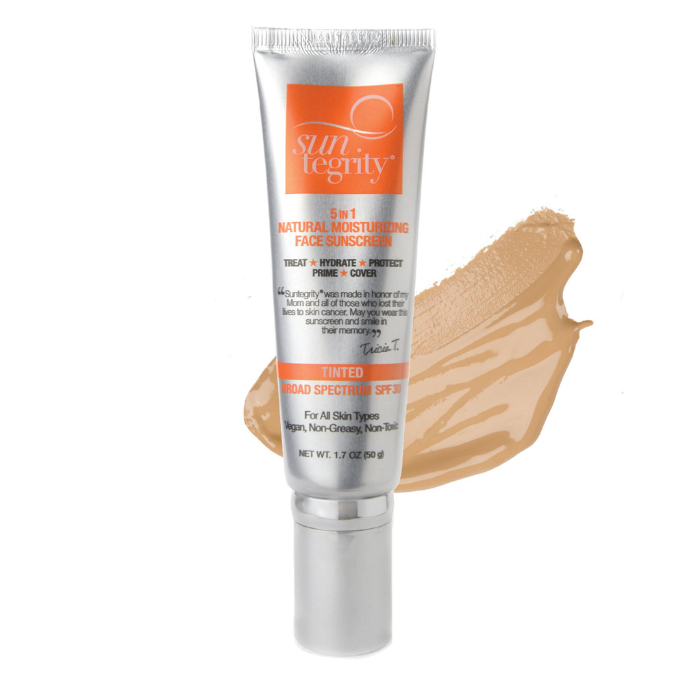 """Suntegrity — """"5 in 1"""" Natural Moisturizing Face Sunscreen"""
