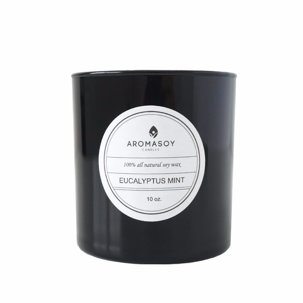 Aroma Soy — Eucalyptus Mint Soy Candle