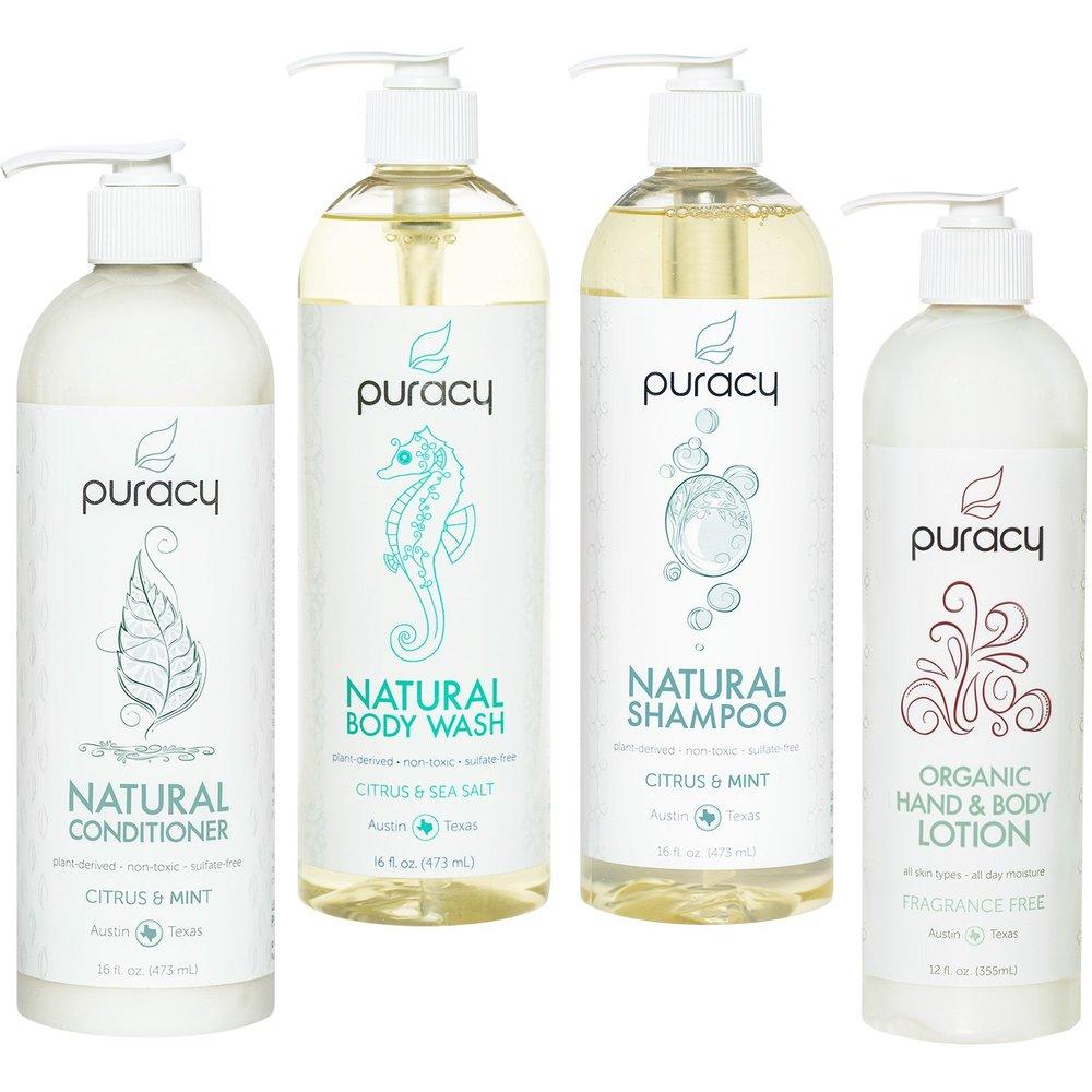 Puracy — Natural & Organic Personal Care Set