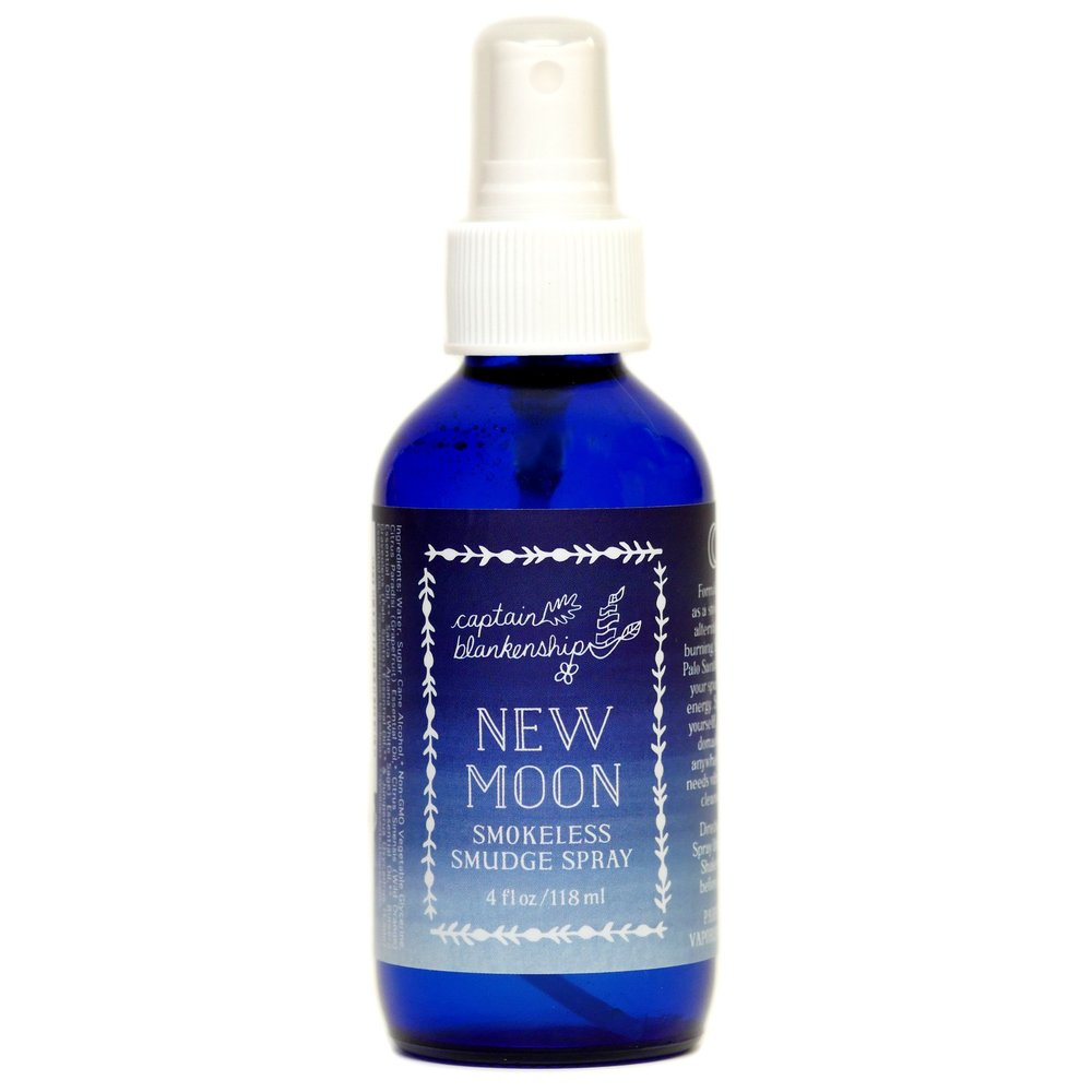 The platform podcast, kelli tennant, nontoxic clean products, new moon smokeless smudge spray, captain blankenship