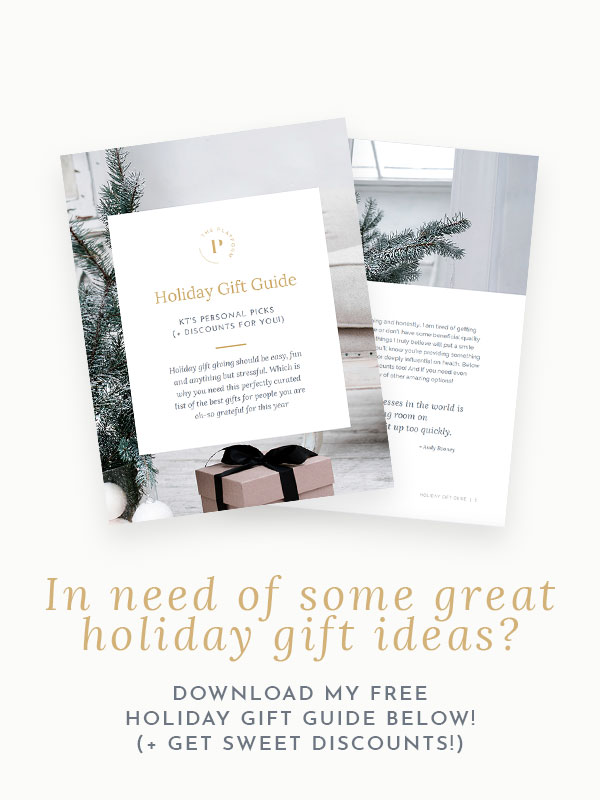 the platform podcast kelli tennant, holiday gift guide and ideas, non-toxic, clean products and gift inspiration