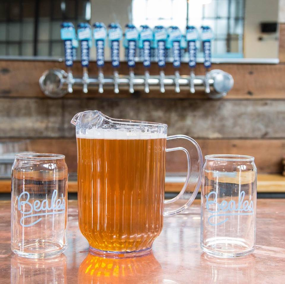 - Beale's Gold Lager is a mainstay at the brewery and available at many fine watering holes throughout the region. You couldn't ask for a finer choice after a long day of going uphill.