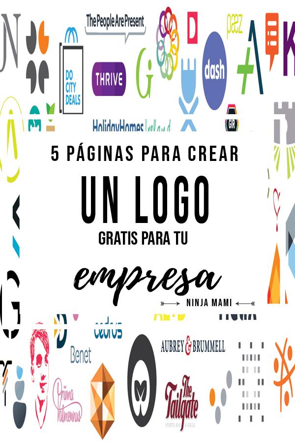 5 Páginas para Crear un Logo Gratis para tu Empresa — Ninja Mami