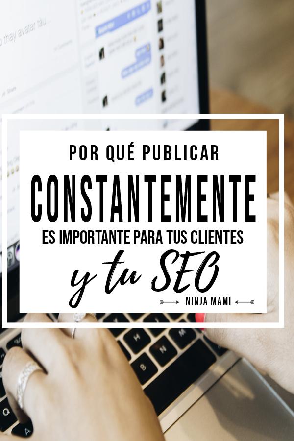 SEO Publicar Publicaciones Página Web Blog