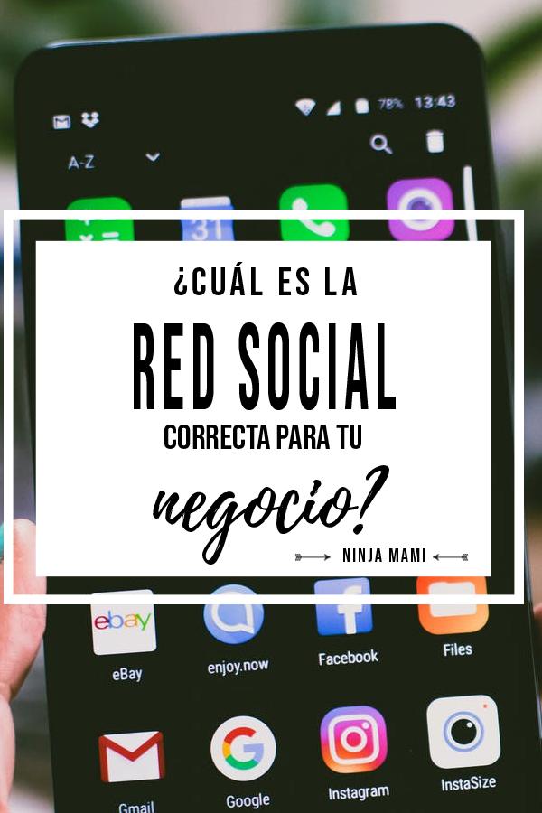 Redes Sociales Facebook Instagram Twitter Pinterest Snapchat Negocio