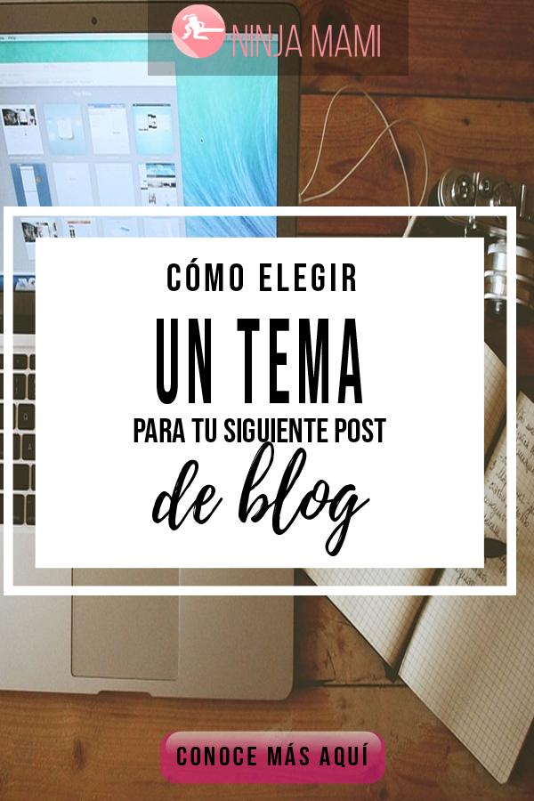 Elegir Tema Post Blog