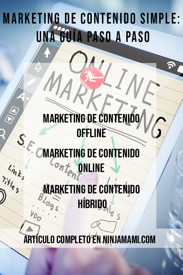 Marketing de Contenido Simple: Una Guía Paso a Paso
