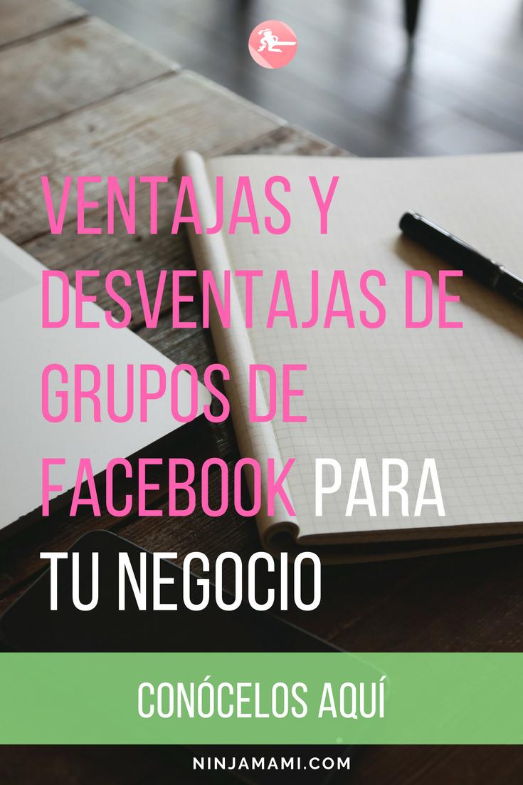 ¿Quieres usar grupos de facebook para tu negocio? lee esto