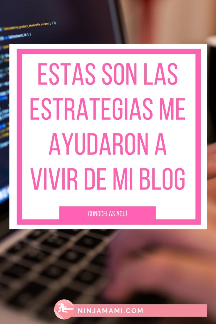 estrategias para ganar dinero con mi blog