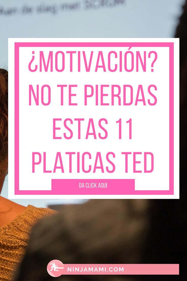 Las 11 Pláticas TED que toda Mujer Emprendedora tiene que Ver