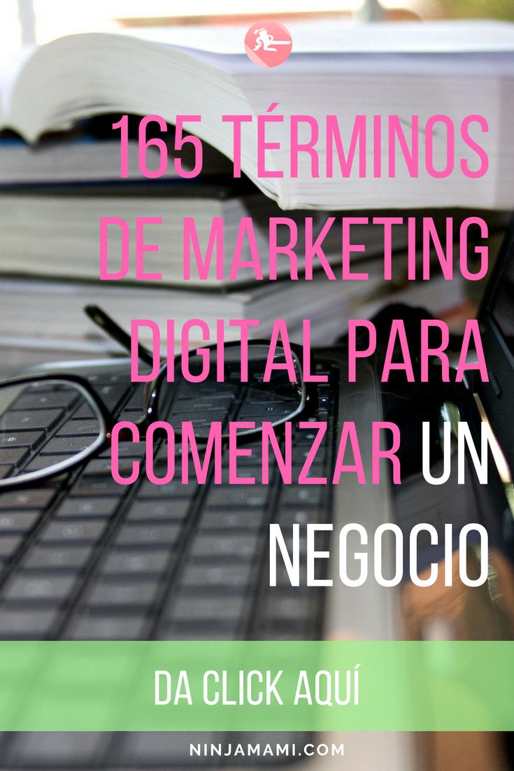 165 Términos De Marketing Digital Imprescindibles Para Comenzar Un Negocio por Internet